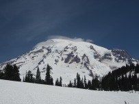 Lenticular Clouds - Mount Rainier