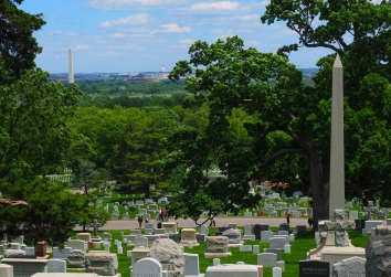 The View from Arlington House