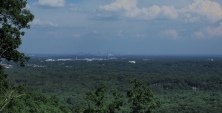 Kennesaw Mountain looking over Atlanta